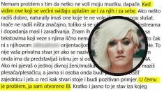 """Nina Kraljić: """"Biseksualna sam"""""""