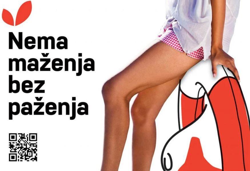 """""""NEMA MAŽENJA BEZ PAŽENJA"""" Ljetna javnozdravstvena kampanja HZJZ-a na temu zaštite spolnog i reproduktivnog zdravlja"""