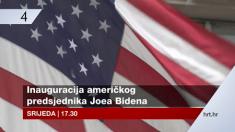 HRT prenosi inauguraciju novog američkog predsjednika Joea Bidena