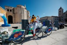 Javni bicikli u gradu Zadru tijekom lipnja besplatni na dva sata!