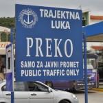 Trajektna luka Preko (Foto: Žeminea Čotrić)