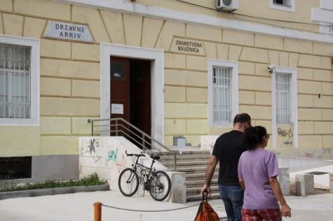Državni arhiv, Znanstvena knjižnica (Foto: Ivan Katalinić)