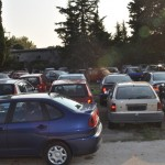 Druga policijska postaja parking (Foto: Žeminea Čotrić)
