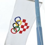 Hrvatski olimpijski odbor zastava (Foto: Žeminea Čotrić)