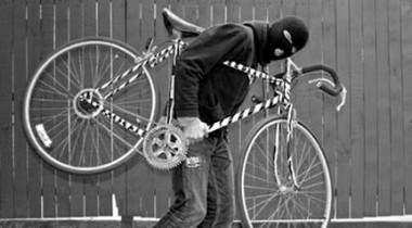 Ilustracija krađa bicikla