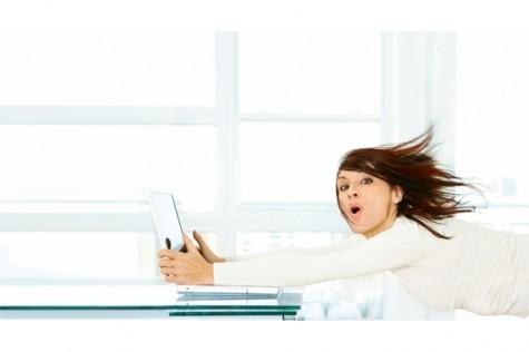 Ilustracija: surfanje internetom