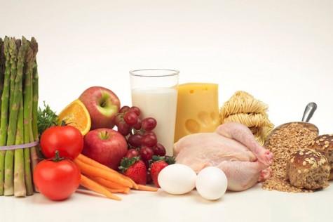 Ilustracija: zdrava hrana