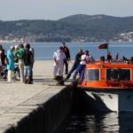Iskrcaj putnika-turista (Foto: Ivan Katalinić)