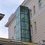Lift za invalide na sveućilištu (Foto: Žeminea Čotrić)
