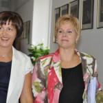 Marija Pletikosa i Grozdana Perić (Foto: Žeminea Čotrić)