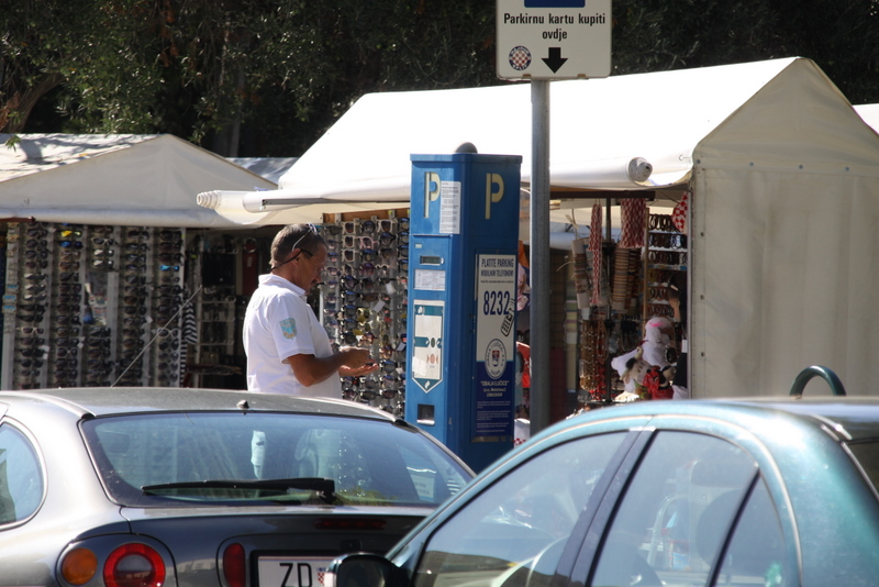 Naplata parkinga (Foto: Ivan Katalinić)