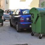 Nepropisno parkirani automobil (Foto: Žeminea Čotrić)