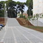 Nova šetnica uz zgrade Tiz (Foto: Ivan Katalinić)