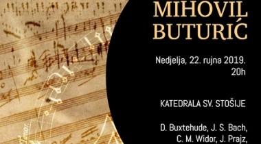 Orguljaški koncert 2019