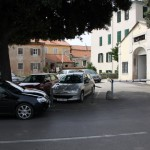 Parking gradskog poglavarstva (Foto: Ivan Katalinić)