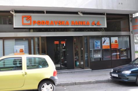 Poslovnica Podravske banke (Foto: Žeminea Čotrić)