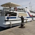 Pristajanje broda (Foto: Ivan Katalinić)