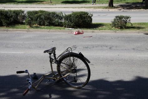 Prometna biciklist (Foto: Žeminea Čotrić)