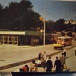 Stari autobusni kolodvor (Foto arhiva Šime Žodan)