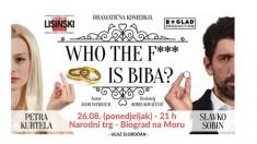"""BESPLATNO: Pogledajte predstavu """"Who the f… is Biba?"""""""