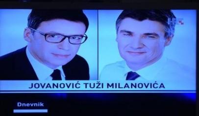 Središnji Dnevnik HTV-a imao je nevjerojatan gaf u vijesti da bi ministar  Željko Jovanović mogao tužiti Zdravka Mamića. Naime 6a345f6b19453