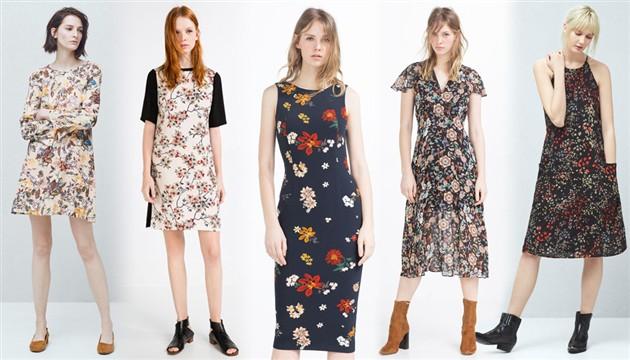 Slikovni rezultat za trend cvjetne haljine