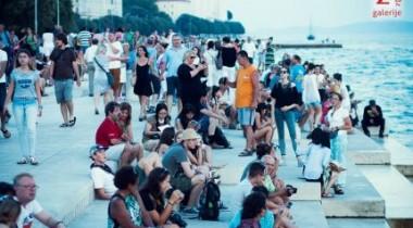morske orgulje turisti